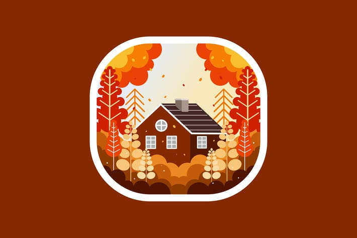 Home in the autumn