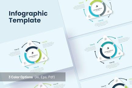 Marketing Triangle Infographics - Sanstemp
