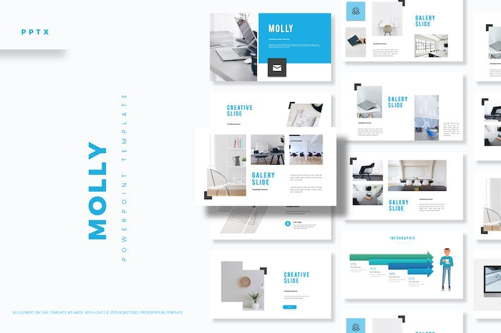 Molly - Powerpoint Template