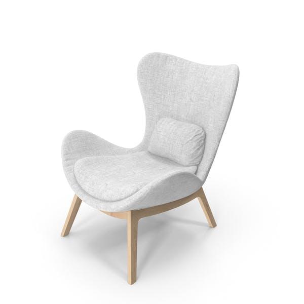 Thumbnail for Белое кресло