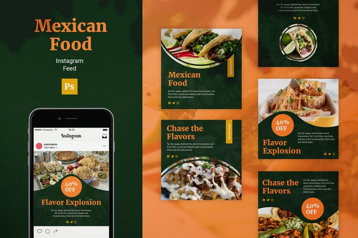 Thumbnail for Mexican Food Instagram Feed