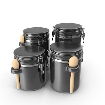 Tarros de cerámica