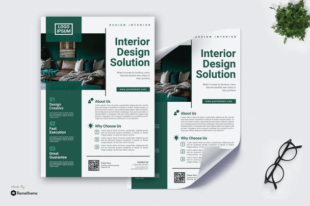 Interior Design Solution - Poster KF