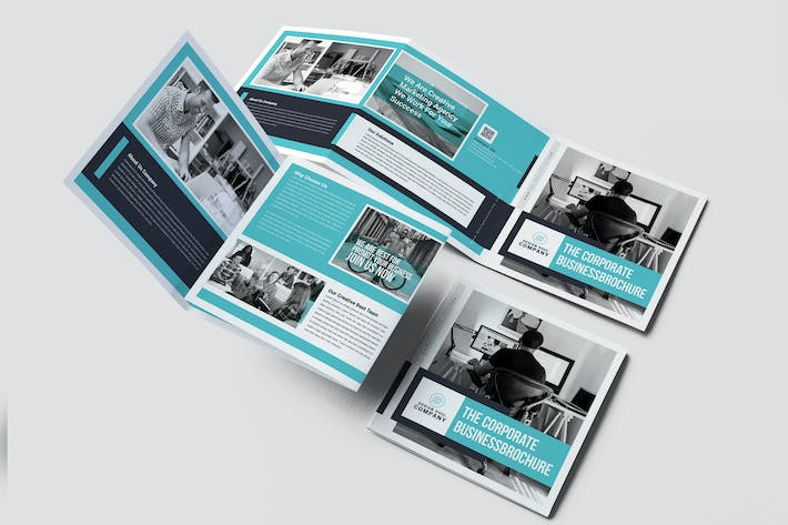 Cover Image For Square Trifold Brochure