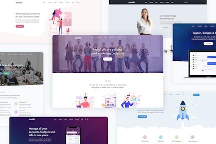 Snowlake - Creative Business & Startup WordPress