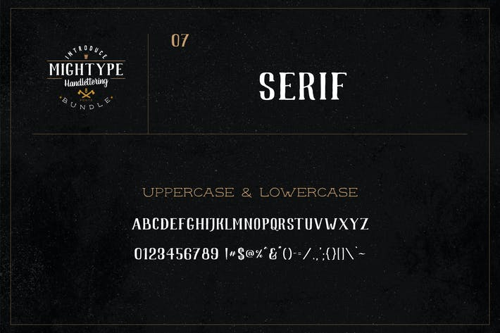 Thumbnail for Mightype 07 - Serif