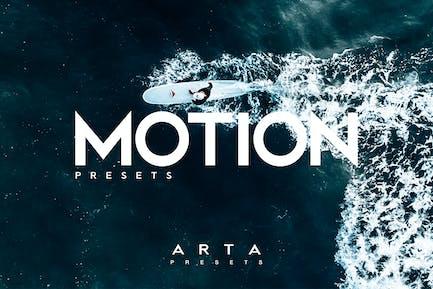ARTA Motion Presets For Mobile and Desktop