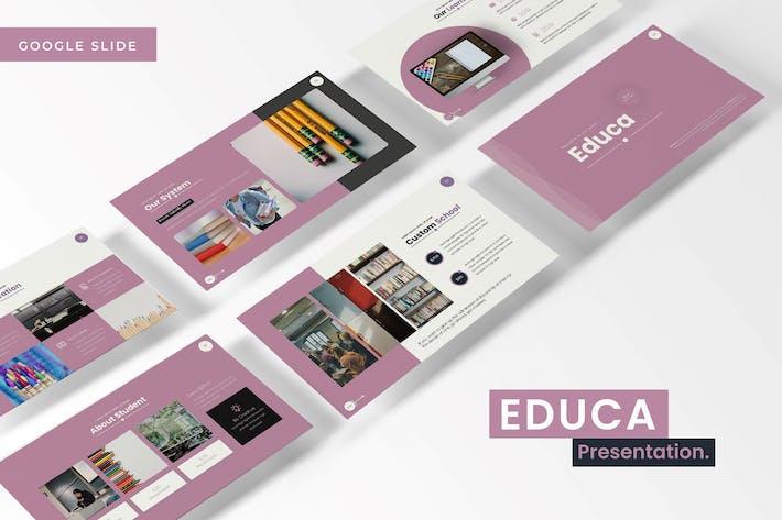 Thumbnail for Educa - Google Slides Template