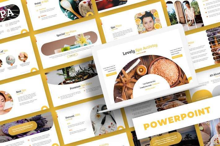 Health Spa - Powerpoint Template