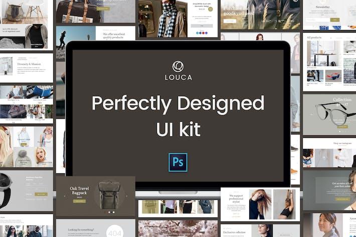 Thumbnail for Louca UI Kit