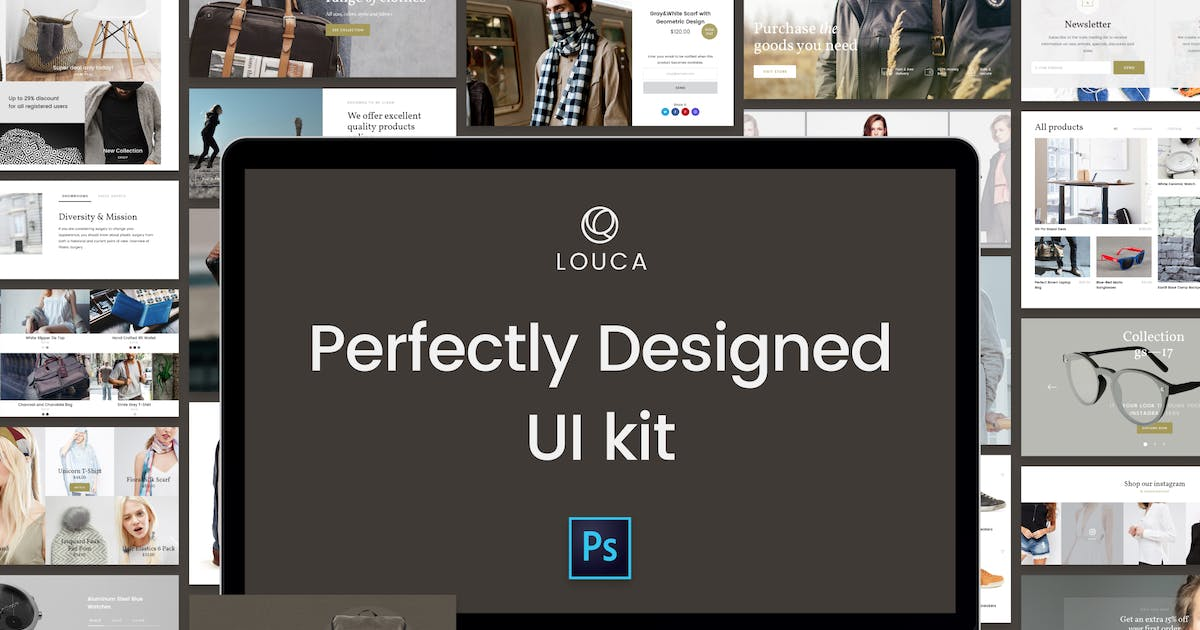 Download Louca UI Kit by Unknow
