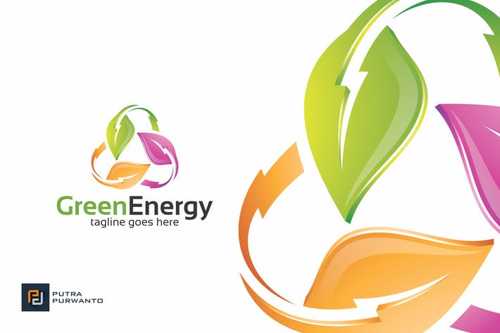 Thumbnail for Green Energy - Logo Template