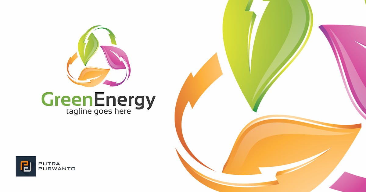 Download Green Energy - Logo Template by putra_purwanto