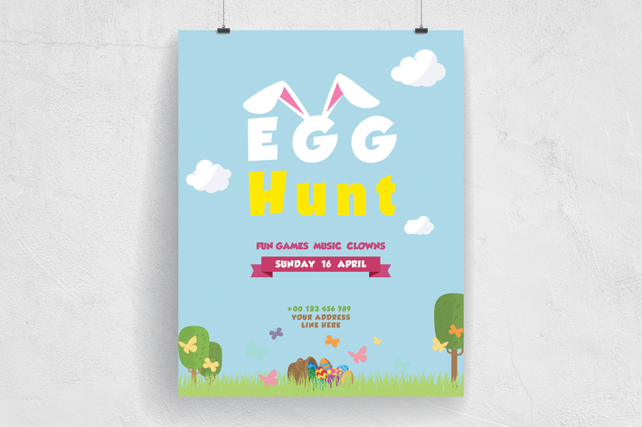 Thumbnail for Easter Egg Hunt Event Flyer