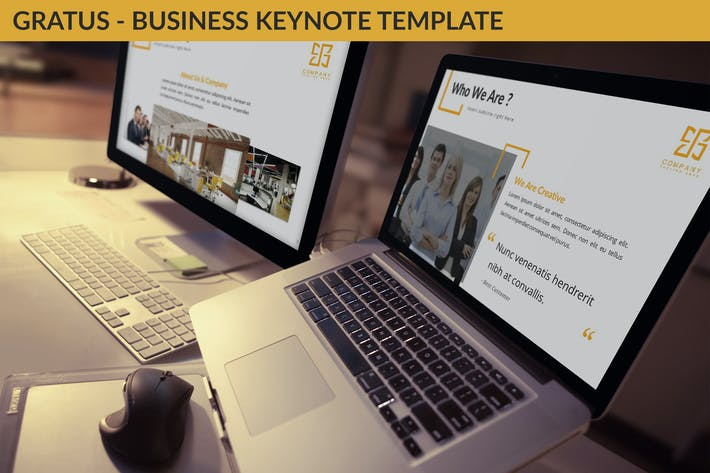 Thumbnail for Gratus - Business Keynote Template