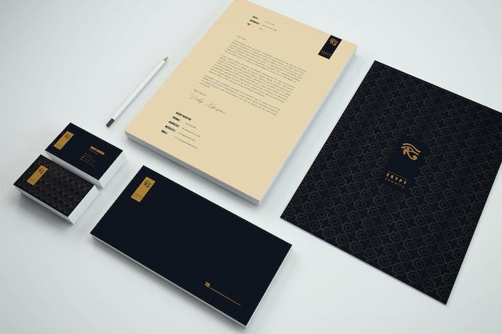 Thumbnail for Elegant Branding Identity & Stationery Pack