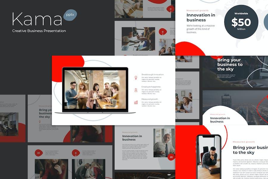 Kama - Creative Business Powerpoint Template