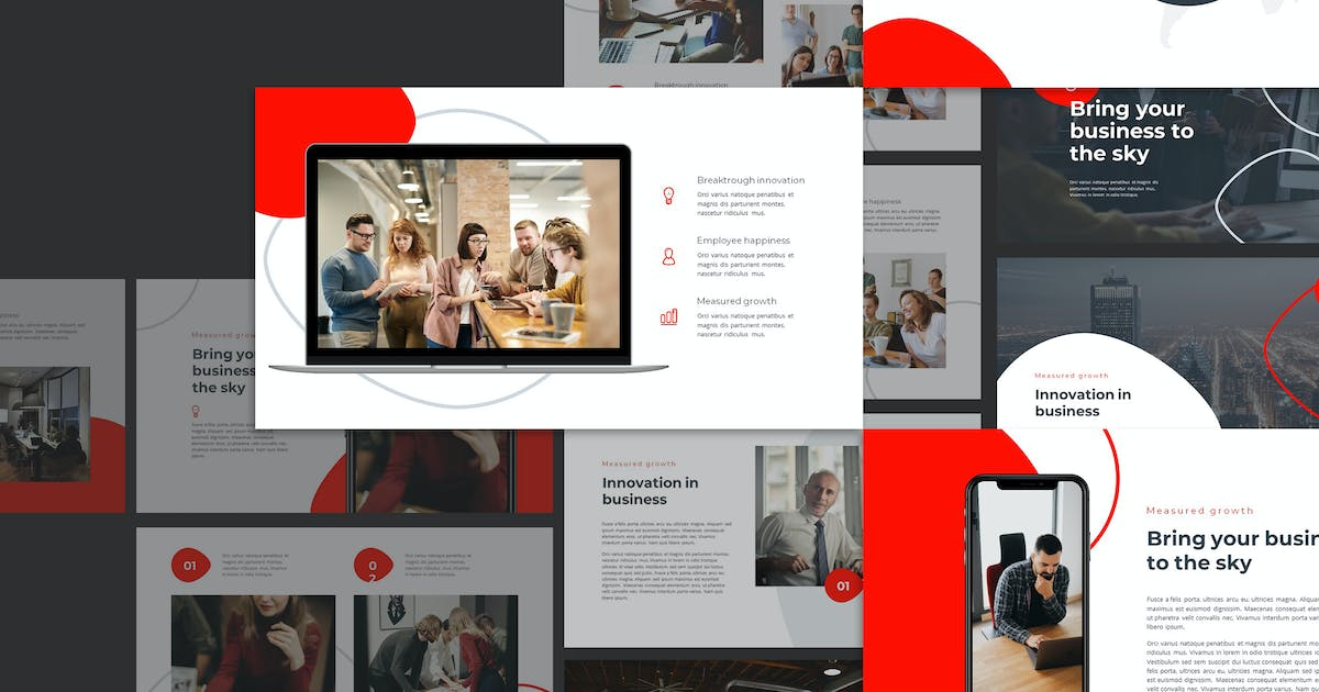 Download Kama - Creative Business Powerpoint Template by Slidehack