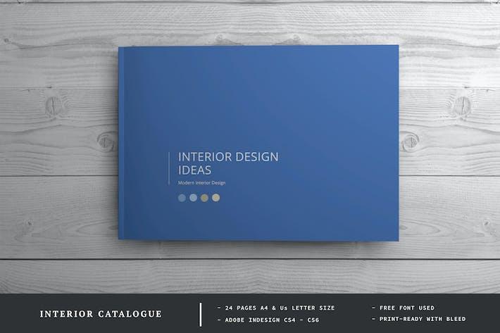 Thumbnail for Interior design Brochure / Catalog Template