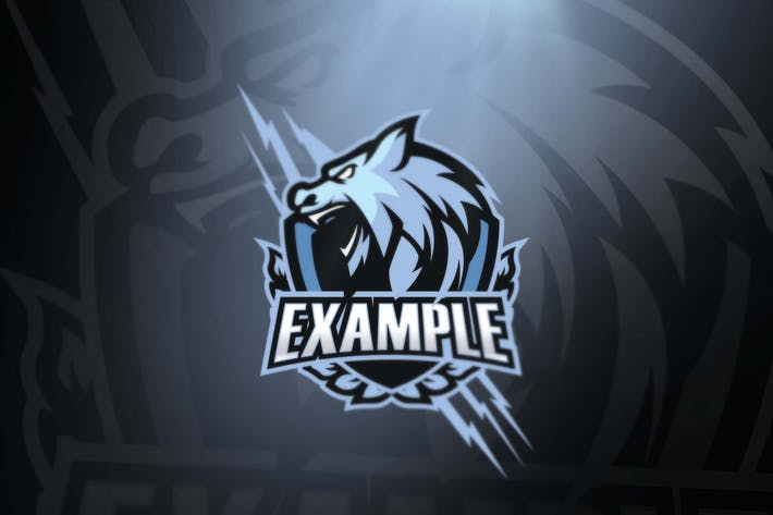 Thumbnail for White Wolf sport and esports logos