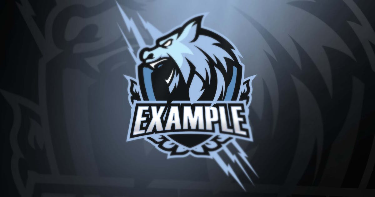 Download White Wolf sport and esports logos by ovozdigital
