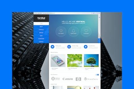 Vertikal - Multipurpose HTML5 Template