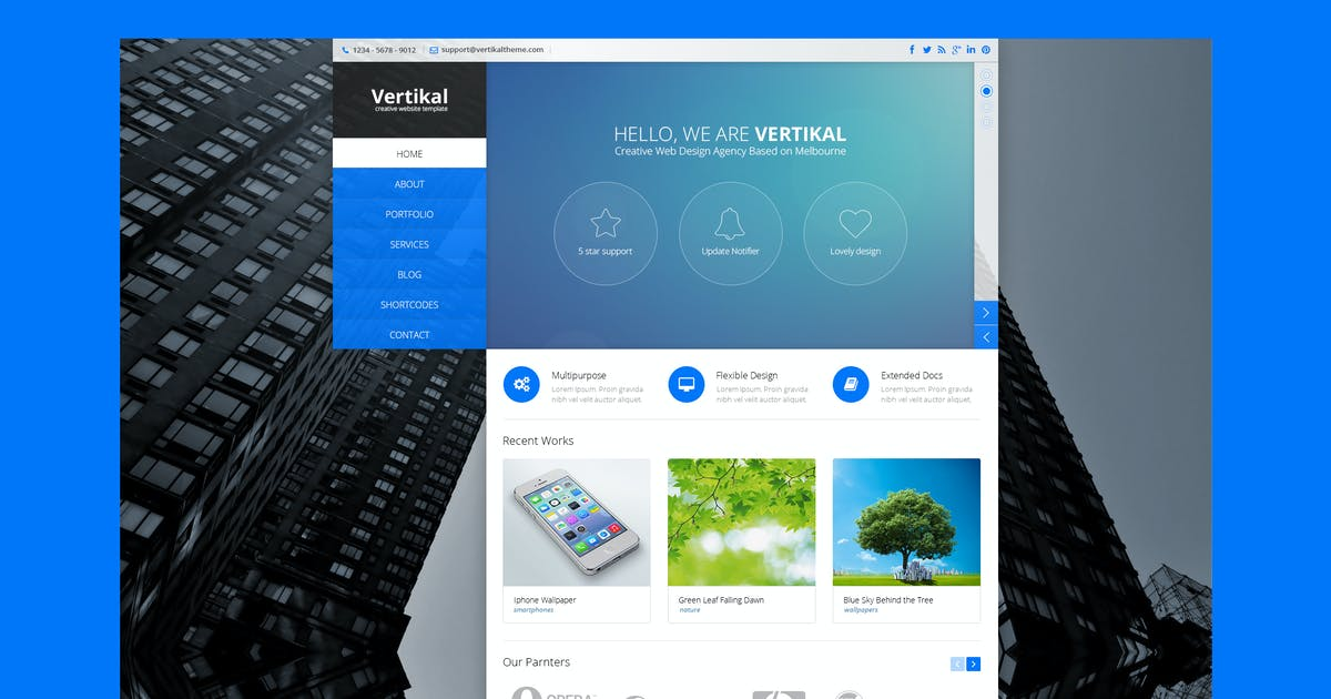 Download Vertikal - Multipurpose HTML5 Template by PremiumLayers