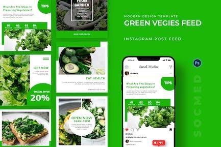 Green Veggies Socmed Post