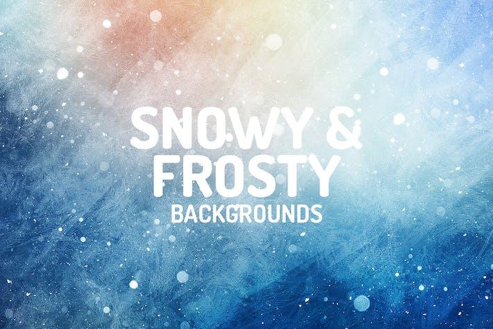 Thumbnail for Fondos Snowy Frosty