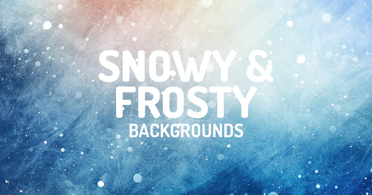 Download Snowy and Frosty Backgrounds by themefire