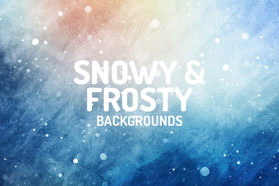 Download Snowy & Frosty Backgrounds by themefire