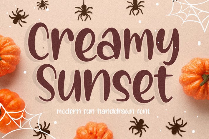 Thumbnail for Creamy Sunset Handwriting Font YH