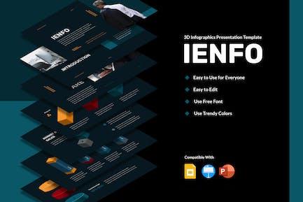 IENFO - 3D Infographics Presentation (DARK)