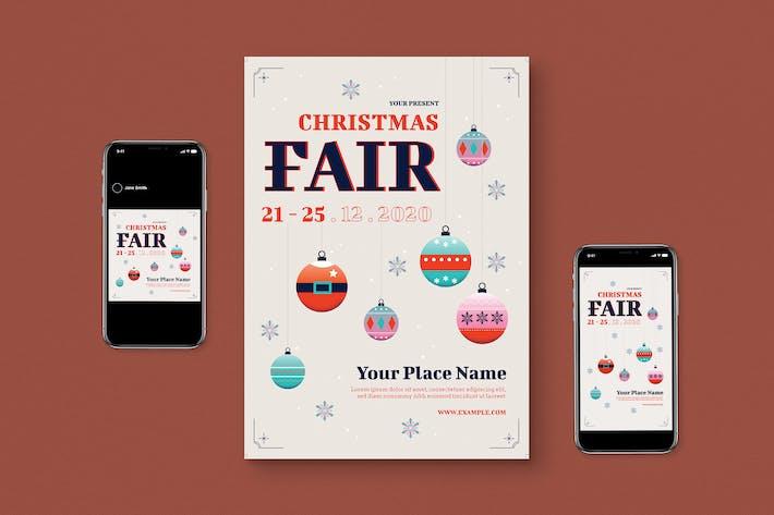 Thumbnail for Christmas Fair Flyer Pack