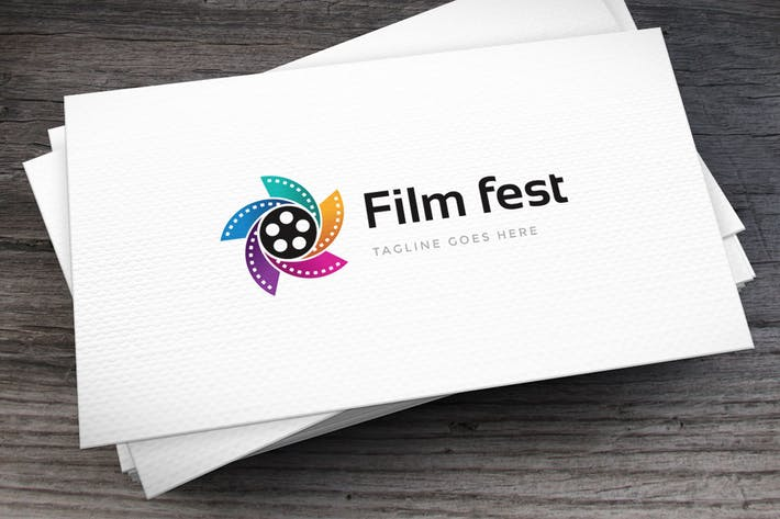 Thumbnail for Film Fest Logo Template