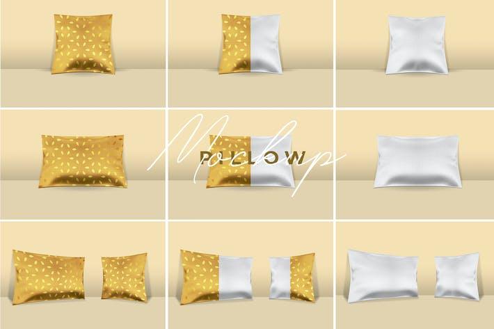 Thumbnail for Premium Pillow Mockup Pro
