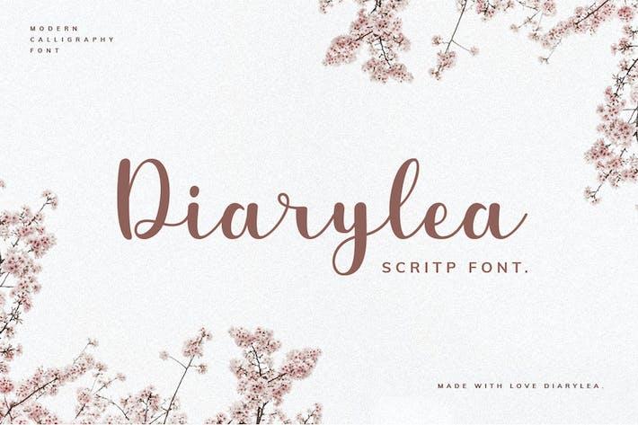 Thumbnail for Diarylea Script Font!