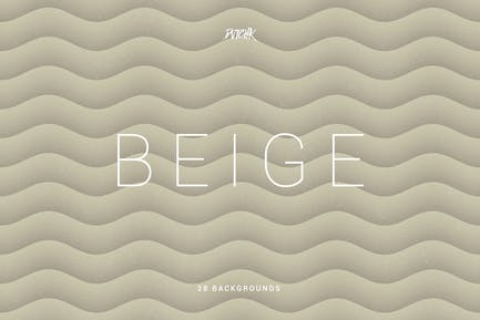 Beige | Soft Abstract Wavy Backgrounds