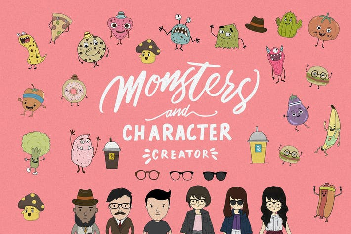 Thumbnail for Character Creator & monsters
