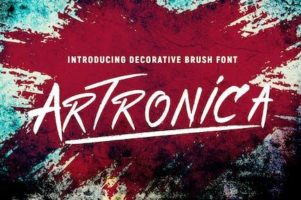Artronica Font