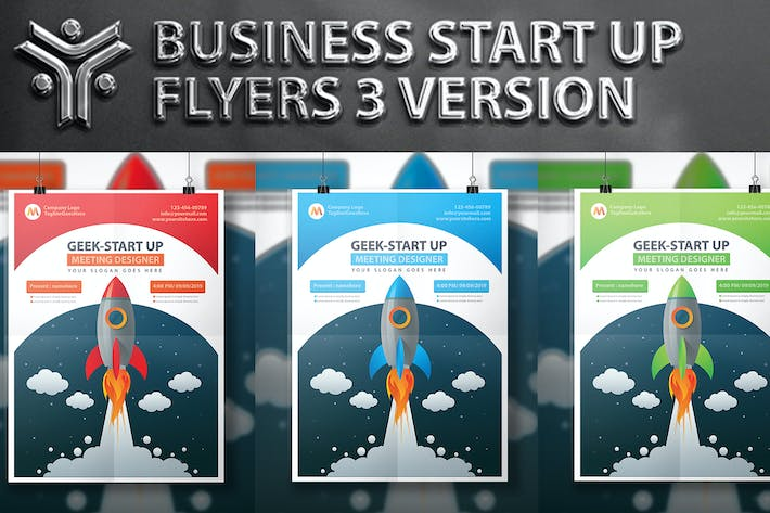 Thumbnail for Start Up Flyer Design