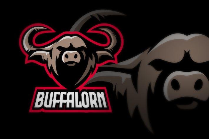 Thumbnail for buffalo sport and esport logo illustration
