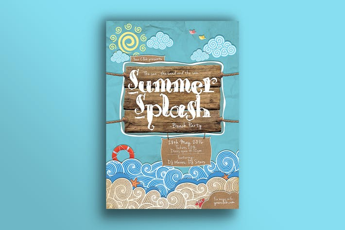 Thumbnail for Summer Splash Flyer