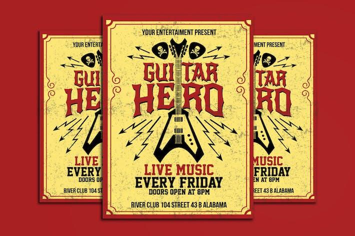 Thumbnail for Guitar Hero Flyer