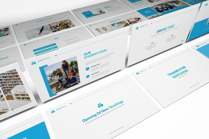 Cover Image For University Powerpoint Presentation Template