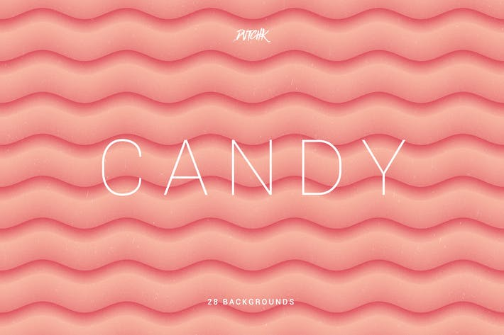 Thumbnail for Candy | Soft Abstract Wavy Backgrounds