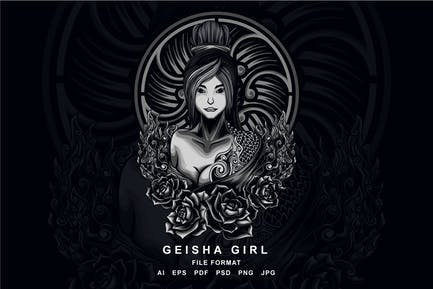 Geisha Fille