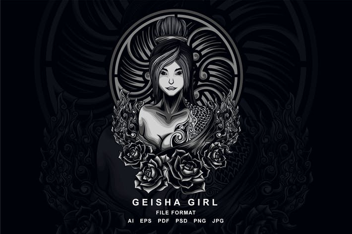 Thumbnail for Geisha Girl