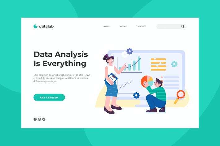 Thumbnail for Data Analysis Landing Page