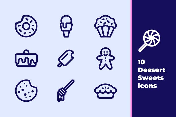 Thumbnail for Desserts and Sweets Icons
